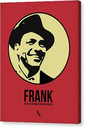 Frank Poster 2 Canvas Print by Naxart Studio