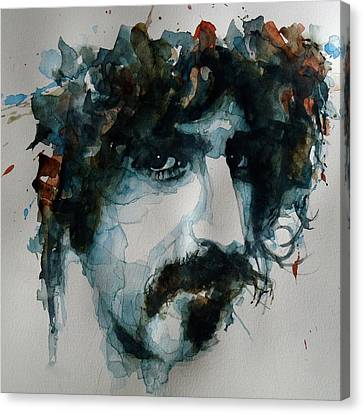 Frank Zappa Canvas Print by Paul Lovering