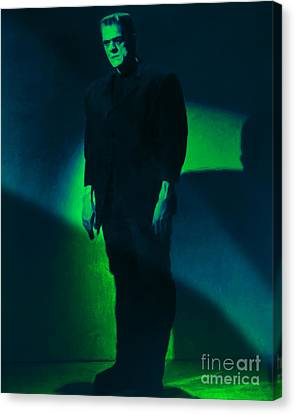 Frankenstein 20130218 Canvas Print by Wingsdomain Art and Photography