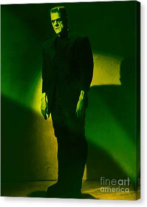 Frankenstein 20130218m80 Canvas Print by Wingsdomain Art and Photography