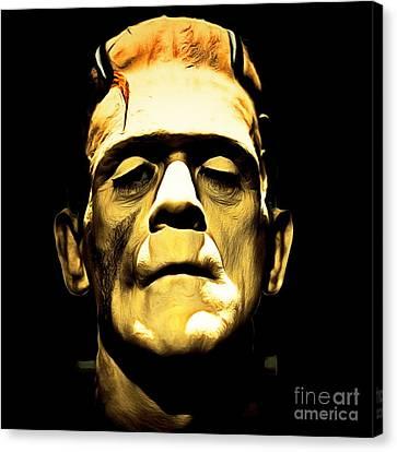 Frankenstein 20140921brunaille Square Canvas Print