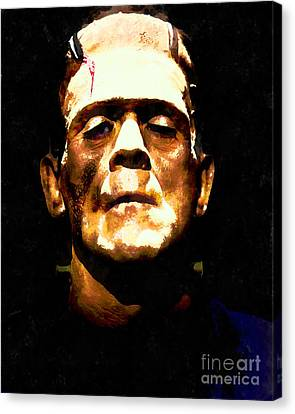 Frankenstein 20140921wc V1 Canvas Print