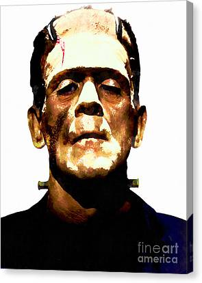 Frankenstein 20140921wc V2 Canvas Print
