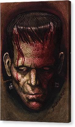 Frankenstein  Canvas Print by David Shumate