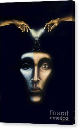 Frankenstein Canvas Print by Gregory John