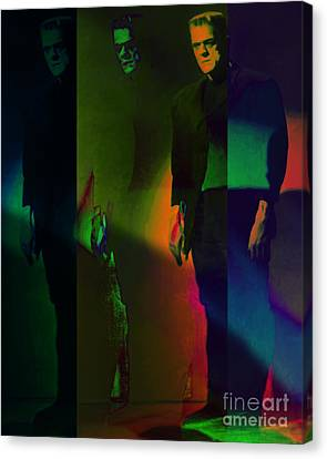 Frankenstein Lives 20130218 Canvas Print by Wingsdomain Art and Photography