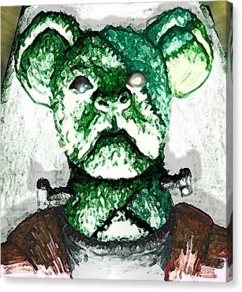 Koala Canvas Print - Frankenstein's Koala by Del Gaizo