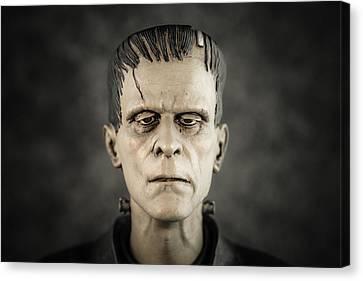 Frankenstein's Monster - Boris Karloff Canvas Print by Marco Oliveira