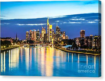 Frankfurt Am Main Canvas Print by JR Photography
