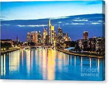 Frankfurt Am Main Canvas Print