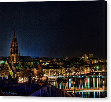 Canvas Print featuring the photograph Frankfurt I by Robert Culver