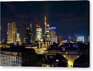 Canvas Print featuring the photograph Frankfurt II by Robert Culver