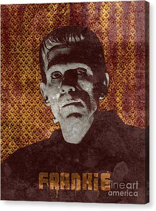 Frankie Monster Canvas Print by MMG Archives