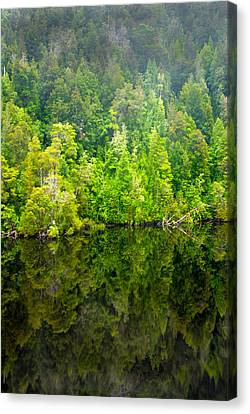 Franklin Gordon Rivers Reflections II Canvas Print