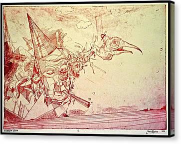Franklin's Dream Canvas Print