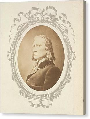 Franz Liszt Canvas Print by British Library