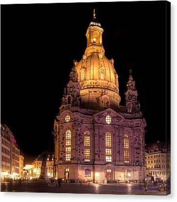 Frauenkirche Canvas Print by Steffen Gierok