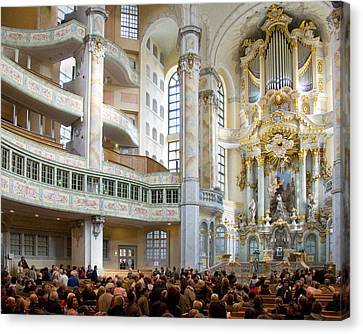 Frauenkirche Canvas Print by William Beuther