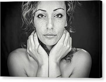 Freckles Canvas Print by Oren Hayman