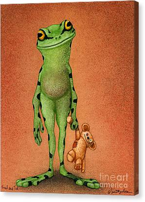 Fred And Ted... Canvas Print by Will Bullas