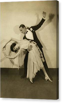 Adele Canvas Print - Fred Astaire by Edward Steichen