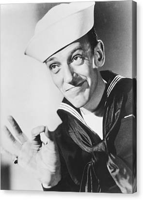 Fred Astaire In Follow The Fleet  Canvas Print by Silver Screen