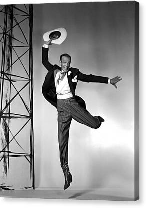 Fred Astaire Canvas Print by Retro Images Archive