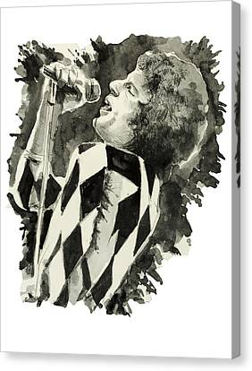 Freddie Mercury Canvas Print by Bekim Art