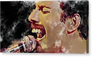 Freddie Mercury Queen 4 Canvas Print