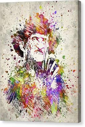 Freddy Krueger In Color Canvas Print