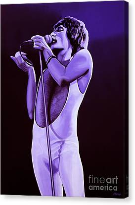 Made Canvas Print - Freddie Mercury Of Queen by Paul Meijering