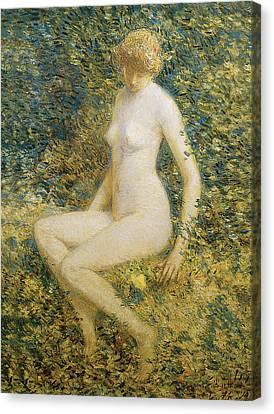 Frederick Childe Hassam Canvas Print by Frederick Childe Hassam