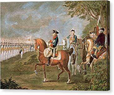 Frederick II The Great (1712-1786 Canvas Print
