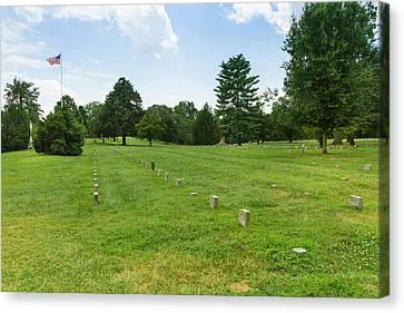 Fredericksburg National Cemetery Canvas Print