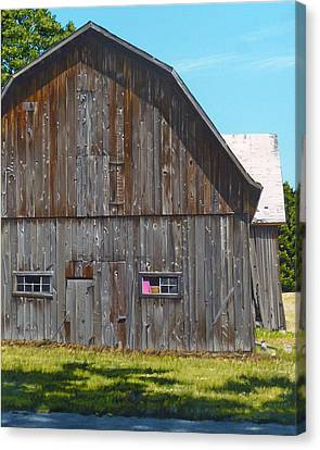 Frederickson Road Canvas Print by Michael Ward