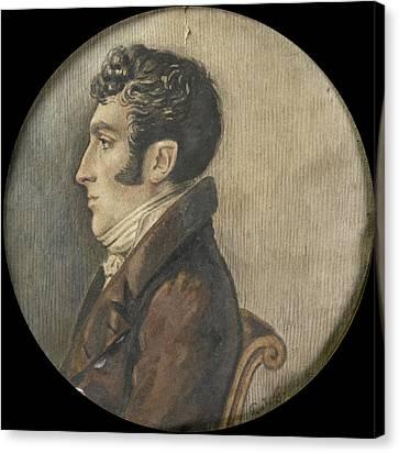 Frederik Willem Van Limburg Stirum 1774-1858 Canvas Print by Litz Collection