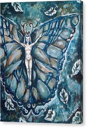 Free As The Wind Canvas Print by Shana Rowe Jackson