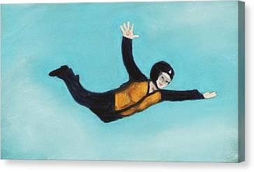 Free Fall Canvas Print by Anastasiya Malakhova