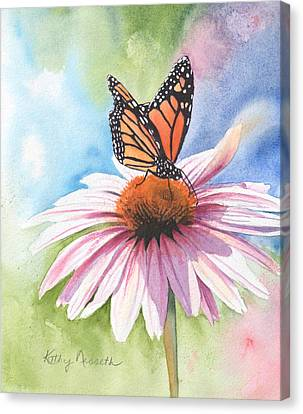 Free Indeed Canvas Print by Kathy Nesseth