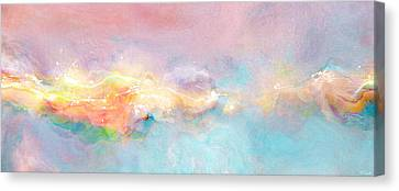 Freedom - Abstract Art Canvas Print by Jaison Cianelli