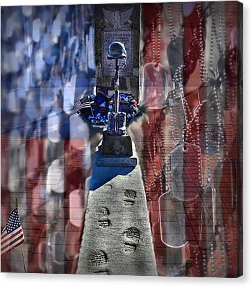 Freedom Ain't Free Canvas Print by DJ Florek
