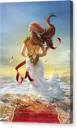 Freedom Canvas Print by Cassiopeia Art