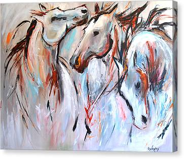 Freedom Canvas Print by Cher Devereaux