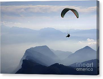 Exhilarating Canvas Print - Freedom by Colin Woods