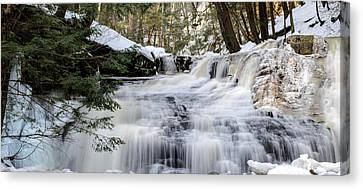 Freedom Falls Winter Canvas Print