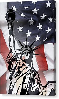 Freedom For Citizens Canvas Print by Daniel Hagerman