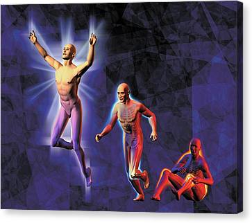 Reliefs Canvas Print - Freedom From Pain by Harvinder Singh