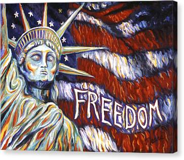 Freedom Canvas Print by Linda Mears