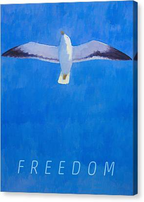 Freedom Canvas Print by Lutz Baar