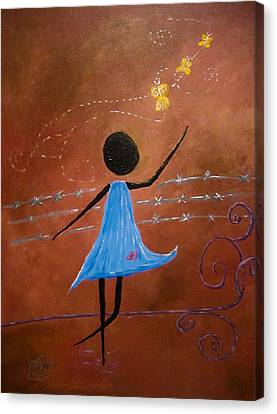 Freedom Canvas Print by Michele Perry
